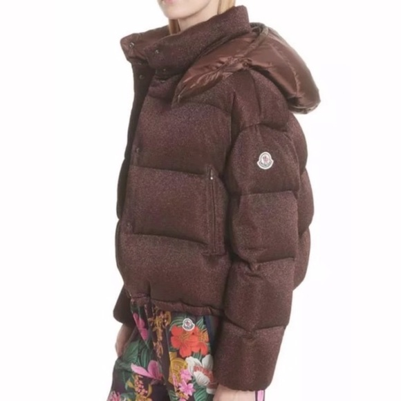 Caille Sparkle Puffer Jacket | Marissa Collections